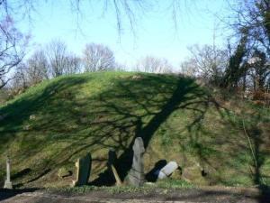 Castle Hill, motte