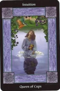 Vivian, Martin Mere (Sacred Circle Tarot