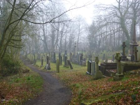 Graveyard, St Mary's Church, Penwortham