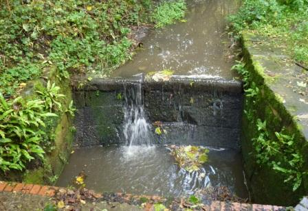 Fish House Brook, Culvert under Hill Rd South