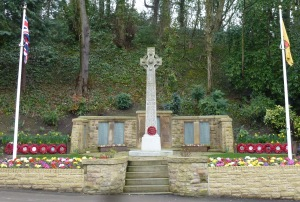 War memorial in Penwortham