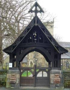 Lych Gate, St Mary's Church, Penwortham