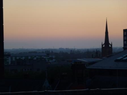 View from Preston Bus Station