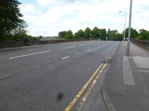 A59, bridge over the river Ribble to Preston