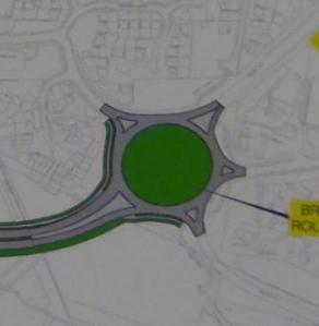 Beginning at Broak Oak Roundabout