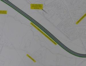 New Stretch of Penwortham By-pass, courtesy of South Ribble Borough Council