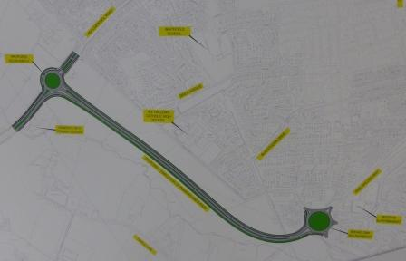 New Route of Penwortham By-pass