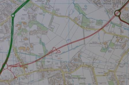 Penwortham By-pass Original Rescinded Route
