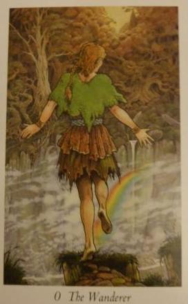 The Wanderer, The Wildwood Tarot