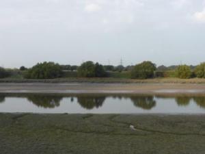 Natural Coastline River Ribble