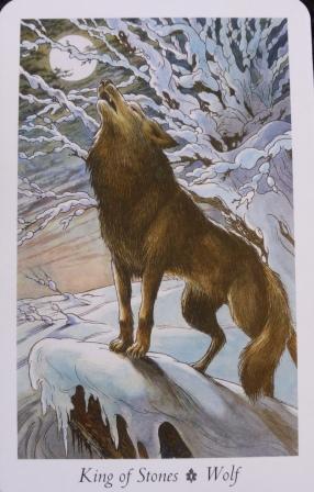 Wolf, Wildwood Tarot
