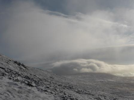 Clouds from Ingleborough