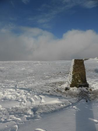 Ingleborough Trig-Point