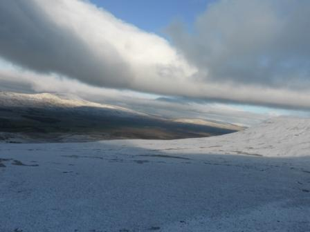Ingleborough towards Twistleton