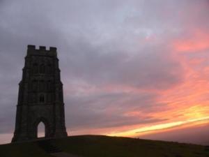 Tower on Glastonbury Tor