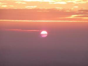 Bold Red Sun