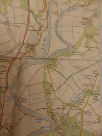 Carwinley, Liddel Water and Liddel Strength OS 323