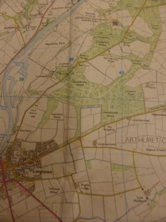 Longtown and Netherby Hall, OS 323
