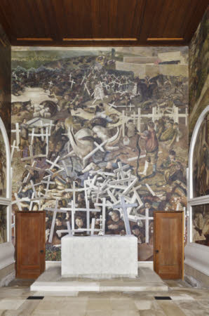 The Resurrection of the Soldiers by Sir Stanley Spencer, CBE,RA (Cookham 1891¿ Cliveden 1959)