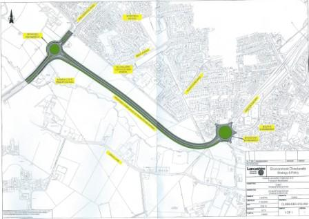 Plans for Penwortham By-pass