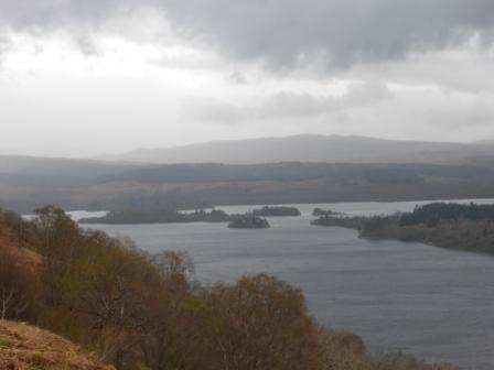 Loch Awe from Ben Cruachan
