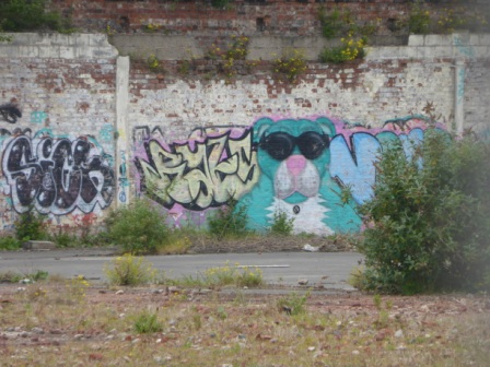 Dudey Hound Grffiti, Horrocks' Yardworks