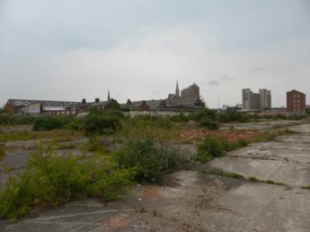 Site of Horrocks' Yardworks