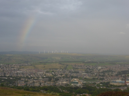 Rainbow over Darwen II