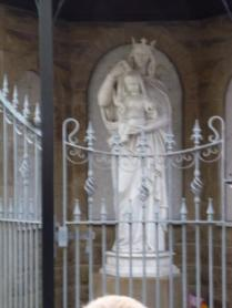 Folkloric Sites, Statue of Mary, Site of St Mary's