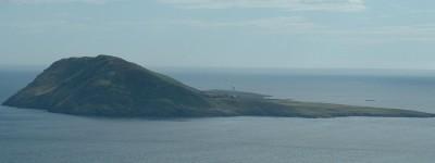 Bardsey Island by Mynydd Mawr, Wikipedia Commons