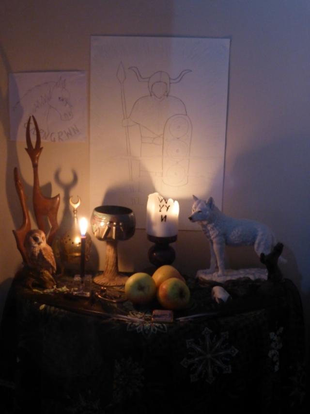 Gwyn Altar Oct 2016