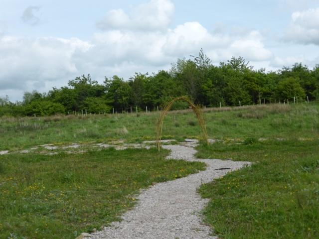 Brockholes Labyrinth