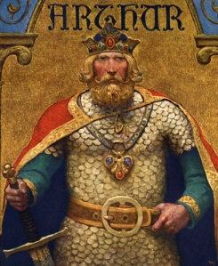 King Arthur of Camelot Wikipedia Commons