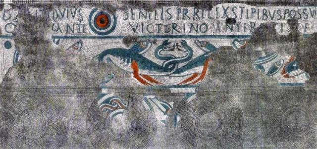 Mosaic from Nodens' temple