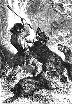 Britishwolfhunt Wikipedia Commons