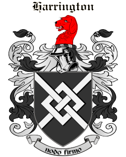 harrington coat of arms Wikipedia Commons