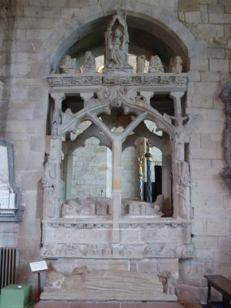 Harington Tomb, Cartmel Priory