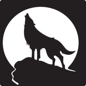 wolf-clipart-19 Public Domain