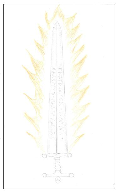 Sword of Rhydderch Border