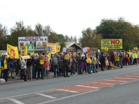 Anti-Fracking Protest, Preston New Road, 2016