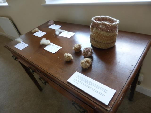 Leaf notes with Longridge wool