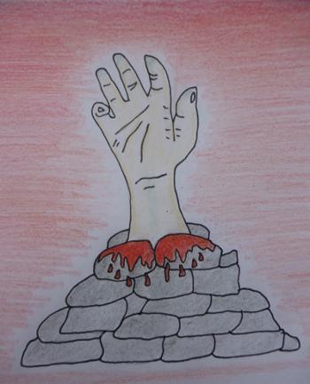 Nuada's Hand Fold of Stones Small