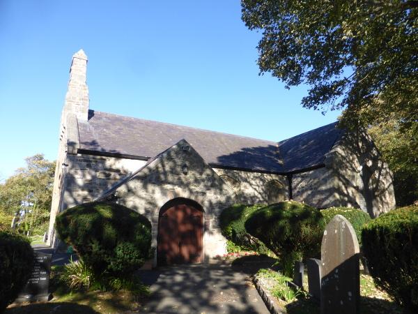Llan Rhos Church I South Door Med