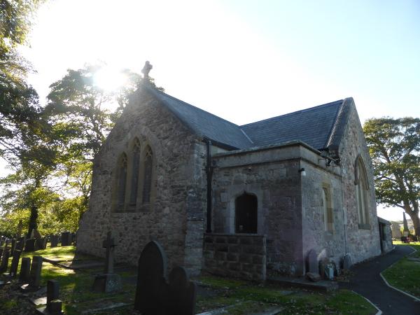 Llan Rhos Church III North East Med