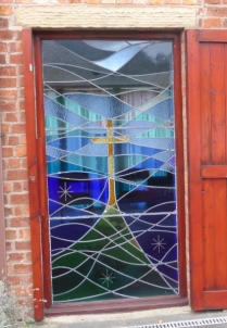 Tabor Retreat House Stained Glass