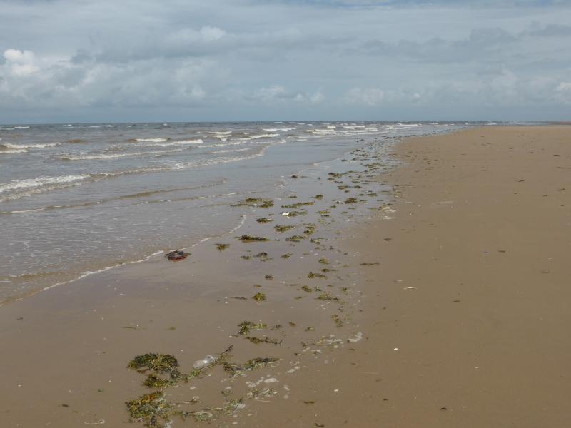 Sea at Blackpool