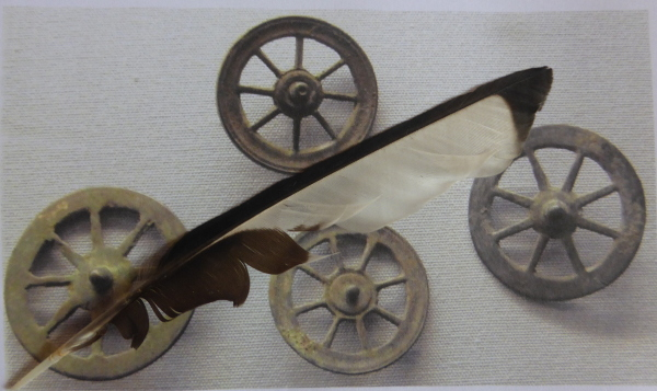 Wheels and Feather of Ffortiwna